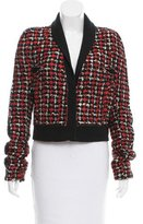 Haider Ackermann Wool-Blend Tweed Jacket