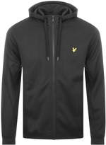 Lyle & Scott Full Zip Hoodie Black