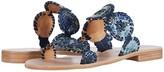 Jack Rogers Lauren Sandal Snake (Blue) Women's Shoes