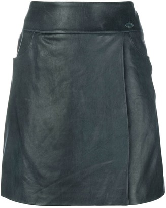 Chanel Pre Owned A-Line Short Skirt