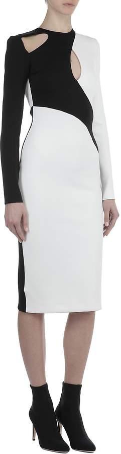 David Koma Bicolor Dress