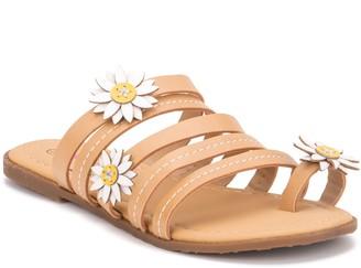 OLIVIA MILLER Flower Power Girls' Sandals