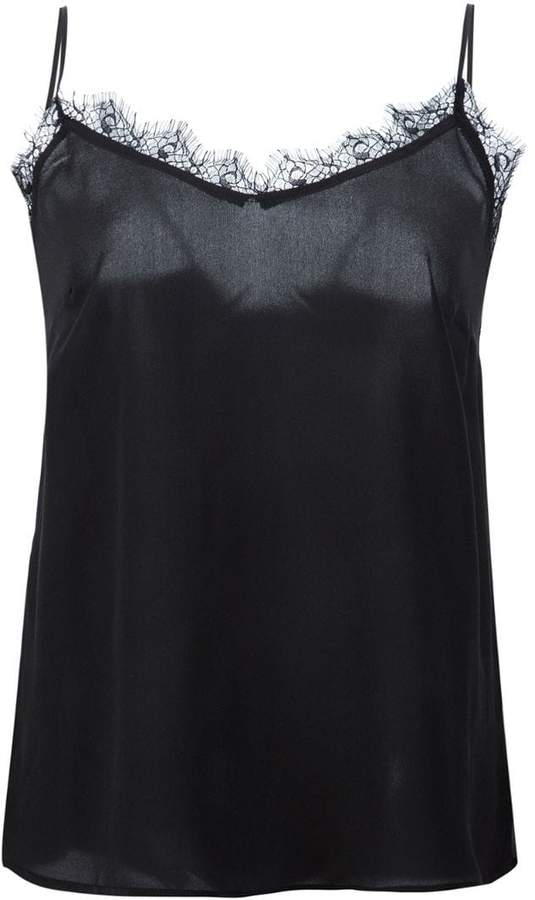 Anine Bing lace insert cami top