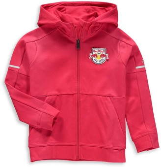 adidas Youth Red New York Red Bulls Travel Jacket