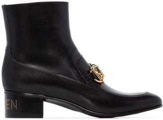 Gucci Kitten Horsebit ankle boots