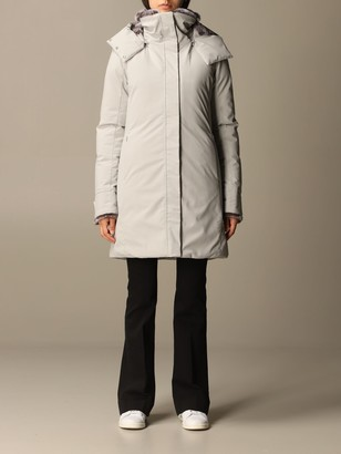 Save The Duck Megy Down Jacket With Hood And Synthetic Fur Interior
