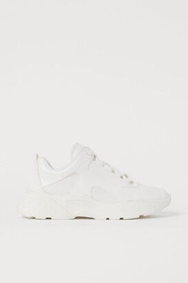 H&M Chunky-soled Sneakers - White