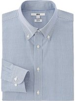 Uniqlo Men's Easy Care Oxford Slim-Fit Dress Shirt