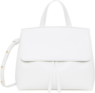 Mansur Gavriel Calf Mini Mini Lady Bag - White/Blu