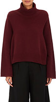Co Women's Mercerized Wool-Cashmere Turtleneck Sweater