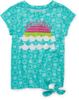 Arizona Side-Tie Graphic Tee - Preschool Girls 4-6x