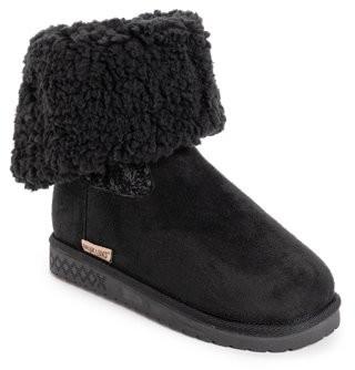 Muk Luks Selena Faux Fur Lined Fold Down Boot (Women's)