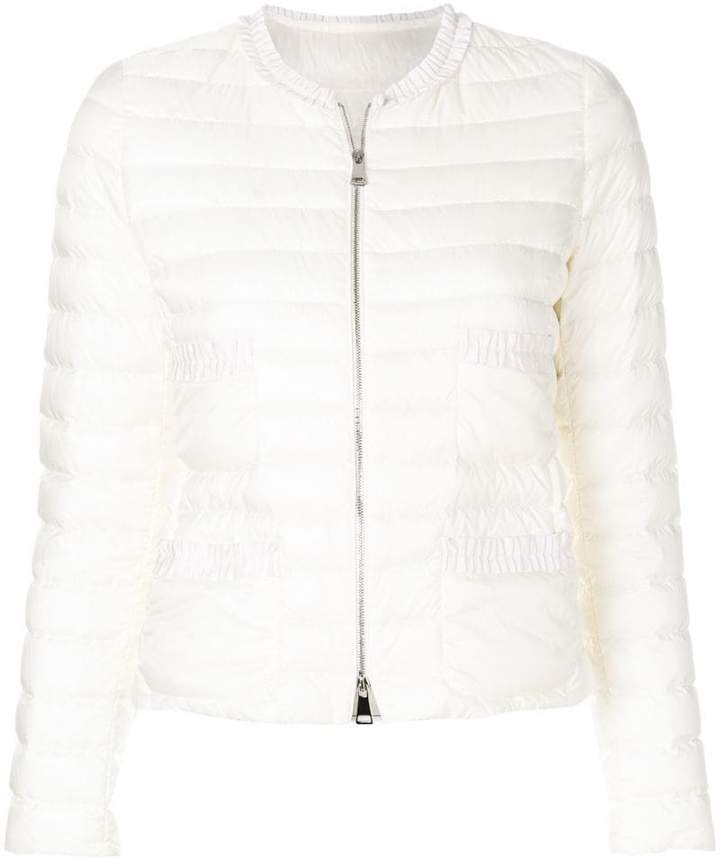 Moncler zip-up padded jacket