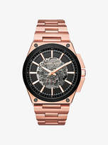 Michael Kors Wilder Automatic Rose Gold-Tone Watch