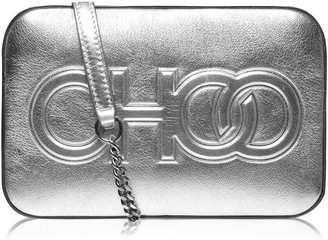 Jimmy Choo Balti Metallic Nappa Cross Body Bag