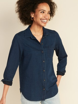 Old Navy Chambray Classic Shirt for Women