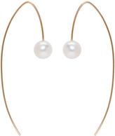 Pearls Before Swine Gold Akoya Pearl Drop Earrings
