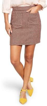 ModCloth Informed Ensemble Houndstooth Miniskirt