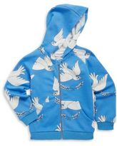 Mini Rodini Baby's, Toddler's, Little Girl's & Girl's Peace Cotton Hoodie