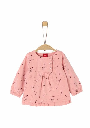 S'Oliver Baby Girls' 65.911.31.7710 Long Sleeve Top