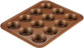 Ayesha Curry Bakeware 12-Cup Copper Muffin Pan