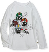 Stella McCartney Max Long-Sleeve Helmet Tee, Size 4-6