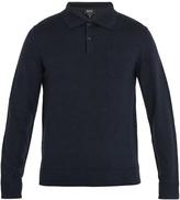 A.P.C. Ricky long-sleeved wool polo shirt