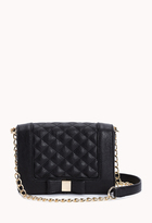 Forever 21 Charming Quilted Crossbody