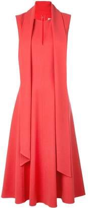 Oscar de la Renta sleeveless flared dress