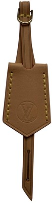 Louis Vuitton Beige Cloth Bag charms