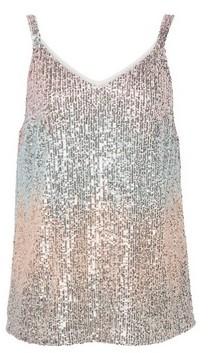 Dorothy Perkins Womens Multi Colour Sequin Cami, Multi Colour