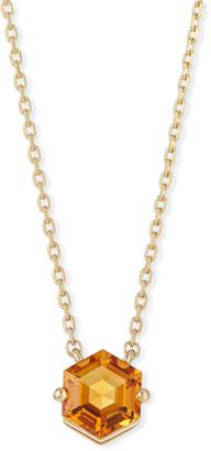 Suzanne Kalan KALAN by Amalfi 14k Gold Hexagon Pendant Necklace