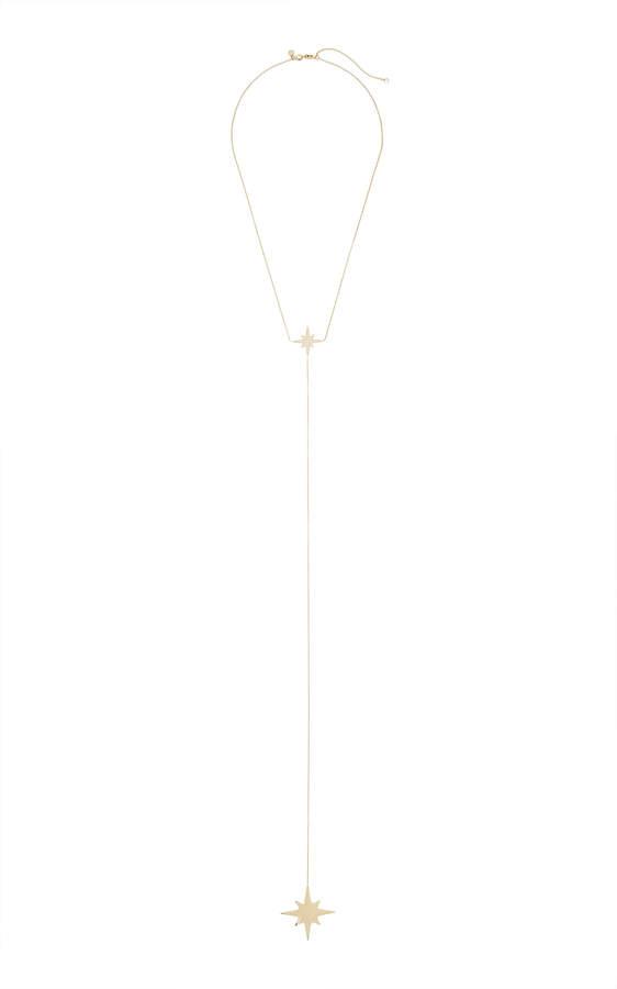 Sydney Evan Starburst Y-Necklace