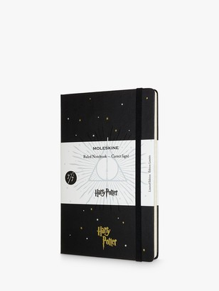 Moleskine Large Harry Potter Deathly Hallows Lined Notebook