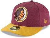 New Era Men's Burgundy/Gold Washington Redskins 2018 NFL Sideline Home Historic Low Profile 59FIFTY Fitted Hat