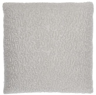 L'OBJET Lobjet - X Haas Brothers Vermiculation Mohair-blend Cushion - Grey