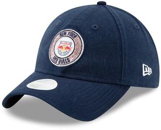 New Era Women's Navy New York Red Bulls Patched Sparkle 9TWENTY Adjustable Hat
