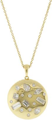 Kwiat Diamond Cobblestone Pendant Necklace