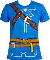 Bioworld LEGEND OF ZELDA Breath of the Wild Cosplay Slim Fit T-Shirt 2XL