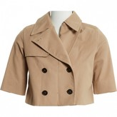 Miu Miu Beige Cotton Jacket for Women