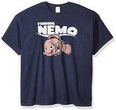 Disney Men's Finding Nemo Classic Logo T-Shirt