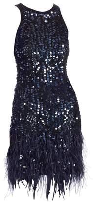 Joanna Mastroianni Sleeveless Sequin Cocktail Dress