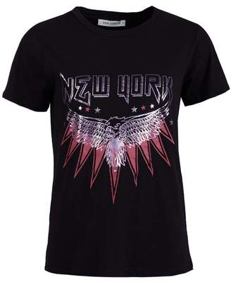 Sofie Schnoor Filicia New York T-shirt Colour: BLACK, Size: XS