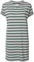 Current/Elliott short-sleeved striped dress