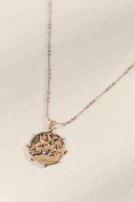francesca's Emmerson Coin Pendant Necklace - Gold
