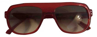 Thierry Lasry Red Plastic Sunglasses