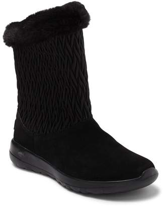 Skechers On The GO Snow Bunny Faux Fur Lined Boot