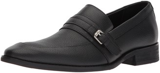 Calvin Klein Men's Reyes Tumbled Leather Loafer