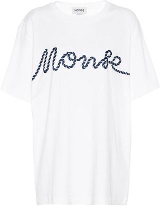 Monse Logo cotton blend T-shirt