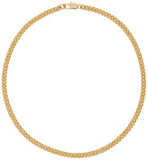 Laura Lombardi Gold Curb Chain Necklace